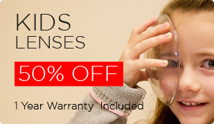 Kids Lenses upto 50% Off