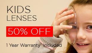 Kids Lenses upto 50% Off